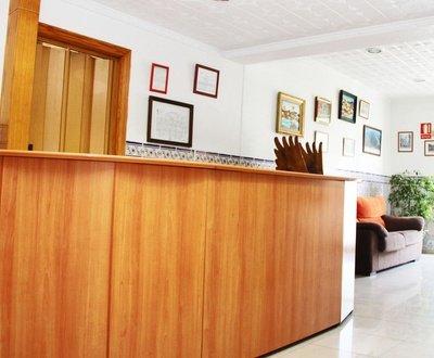 Recepción Hotel Trabuco