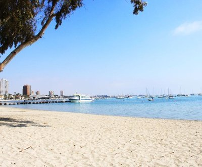 Vista playa Hotel Trabuco