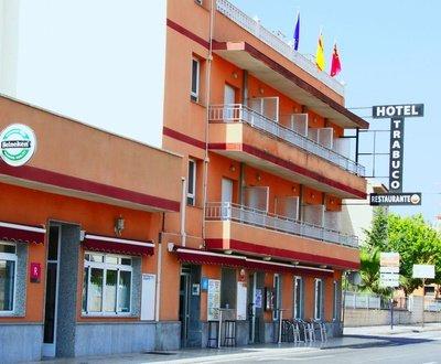 Fachada Hotel Trabuco