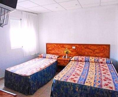 Habitación triple Hotel Trabuco