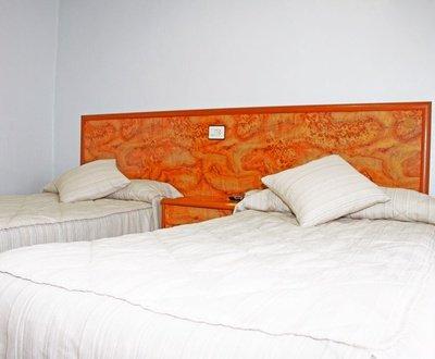 Habitación doble Hotel Trabuco